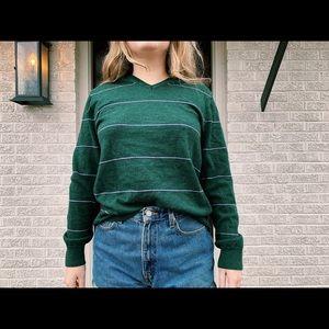 Banana republic longsleeve sweater (green)